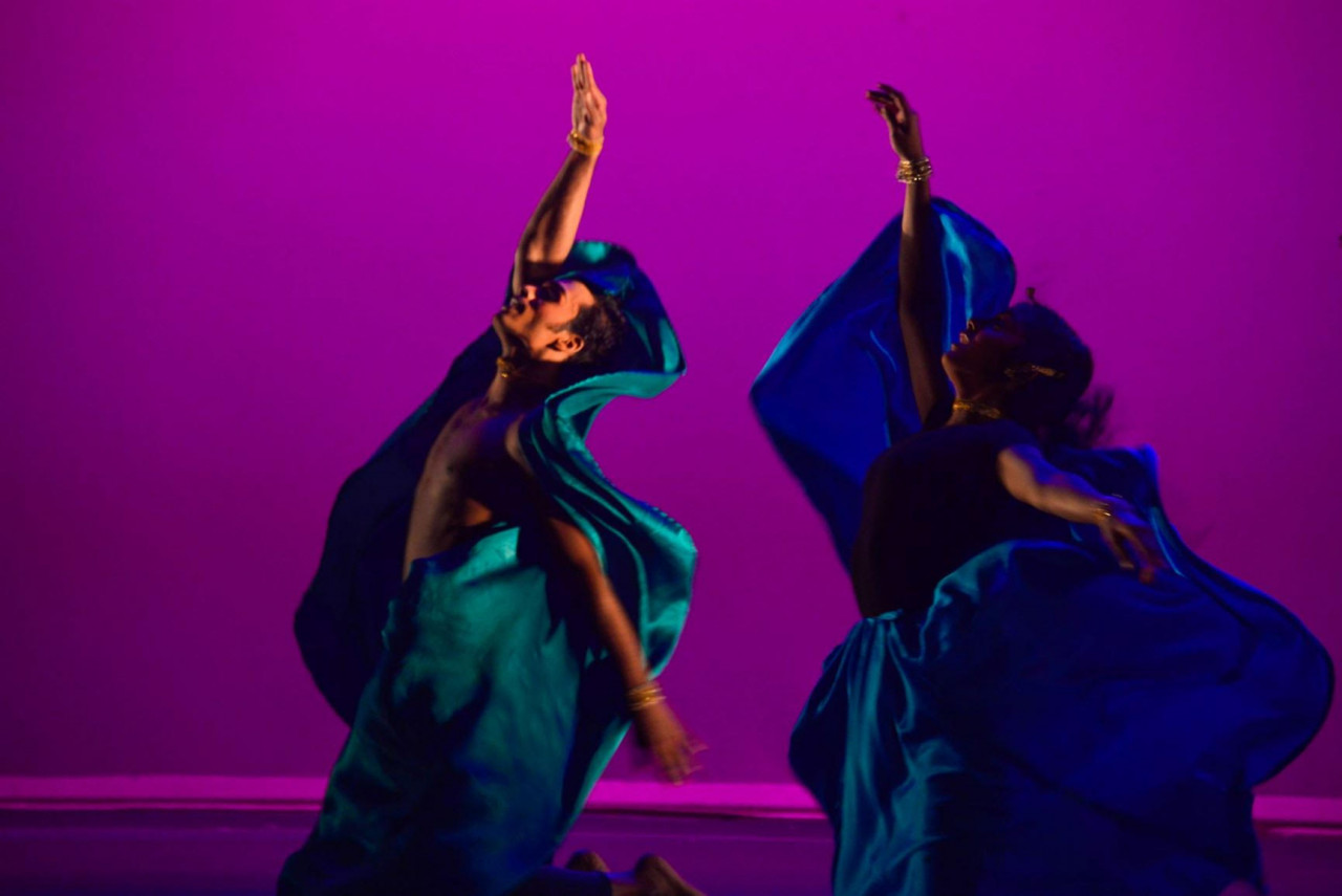 The Temple of Fine Arts dance performance for ArtsFAS into 2021. – Pic from ArtsFAS into 2021