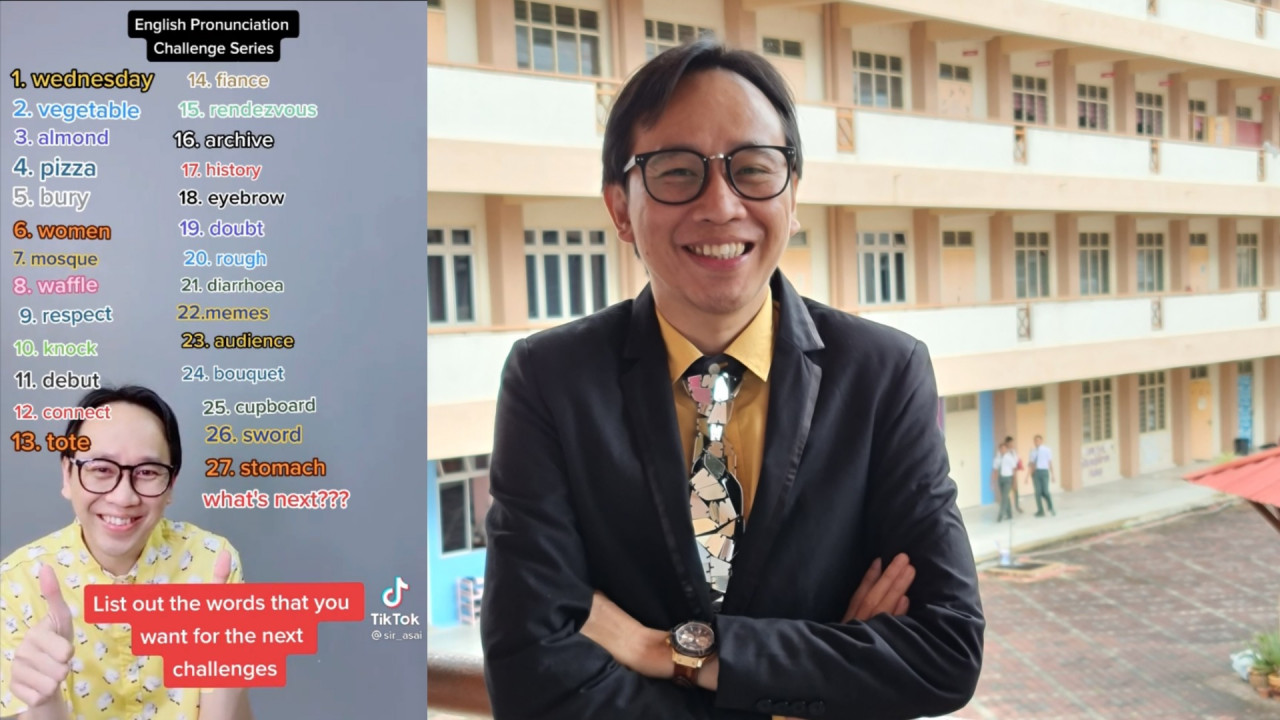 Born and raised in Kota Bharu, @sir_asai has always loved English since young, crediting his English teacher back in school as his inspiration and learning the language mostly through songs, movies, television programmes. – Pic courtesy of Ahmad Shahrul Azhan Ibrahim