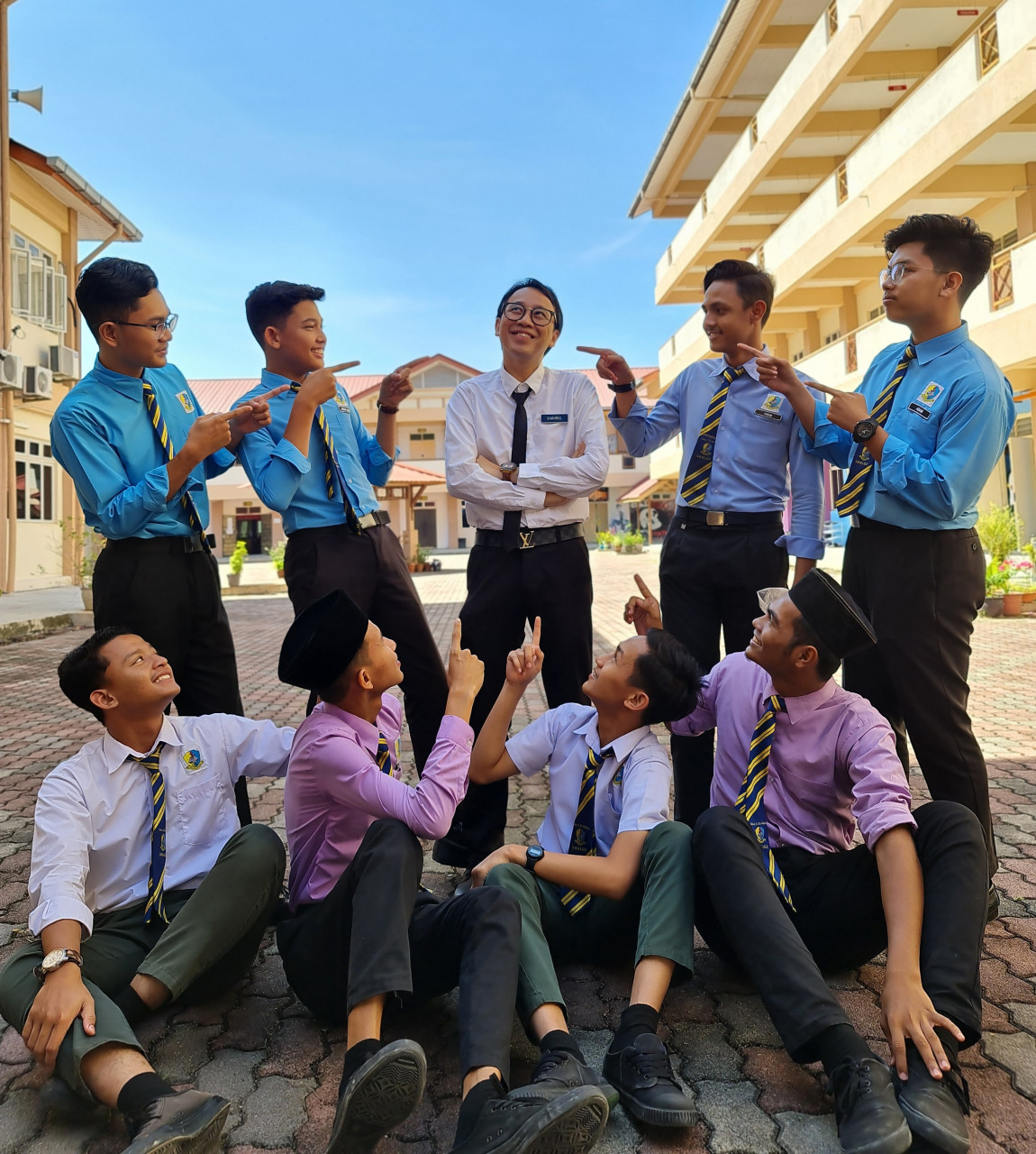 The English teacher based in Kelantan is on a mission to create an environment where pupils would not make fun of each other or scared to learn the language. – Pic courtesy of Ahmad Shahrul Azhan Ibrahim