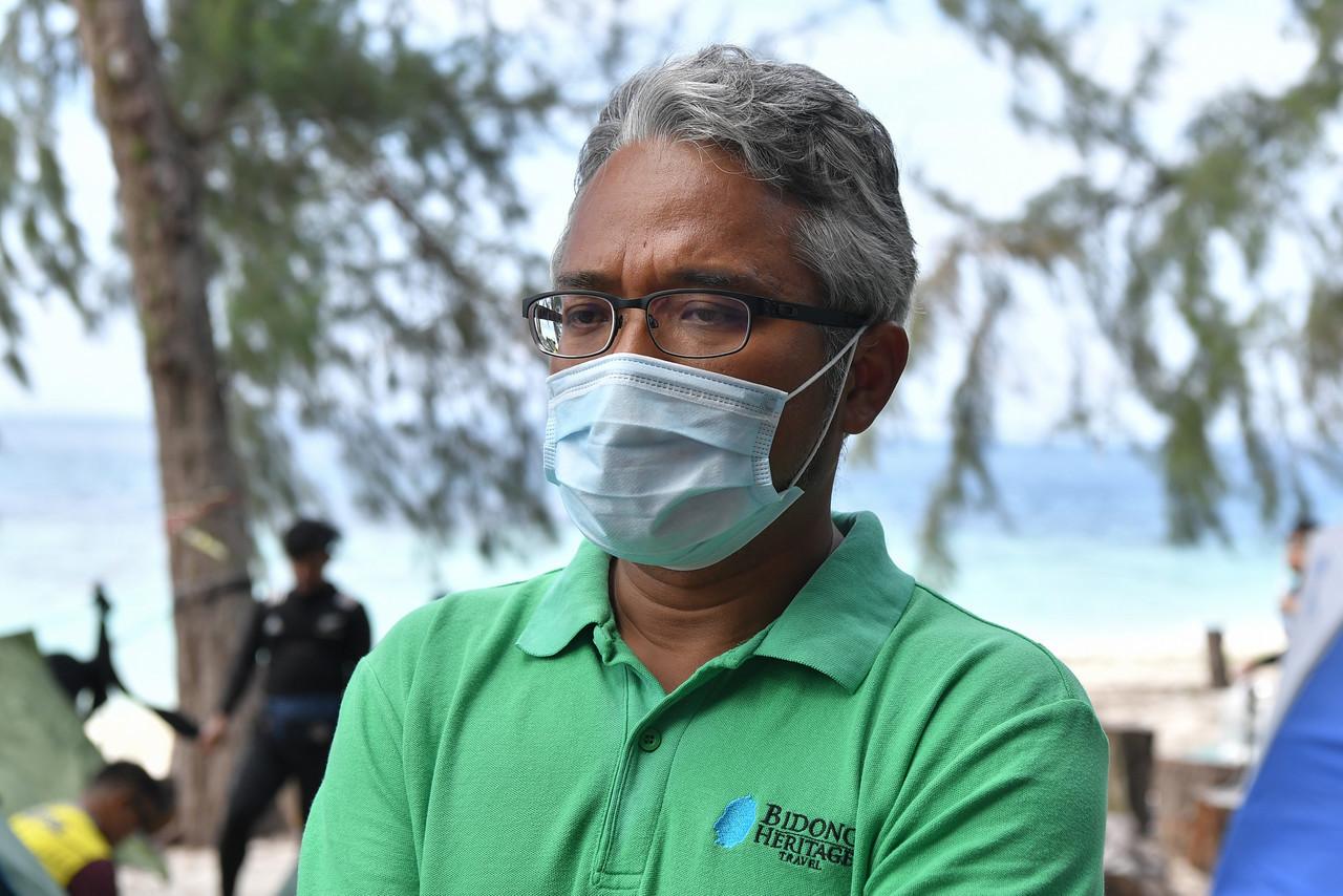 Bidong Heritage Travel Sdn Bhd managing director Badrol Hisham Zaki says Bidong Island is for those seeking tranquility. –Bernama pic