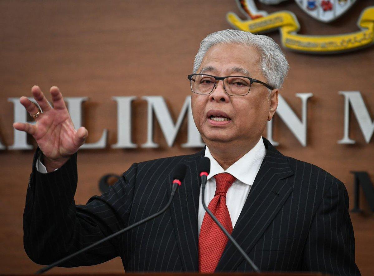 Deputy Prime Minister Datuk Seri Ismail Sabri Yaakob retains his defence portfolio. – Bernama pic, July 7, 2021