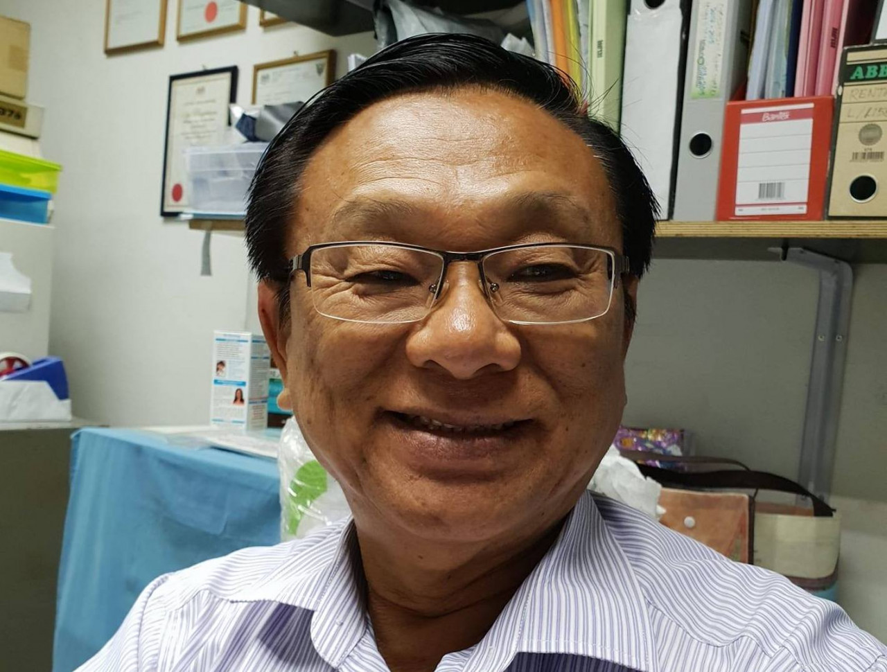 Miri MP Dr Michael Teo says his clinic is willing to play a part in ivermectin trials if Sarawak authorities allow them to be carried out. – Facebook pic, August 14, 2021