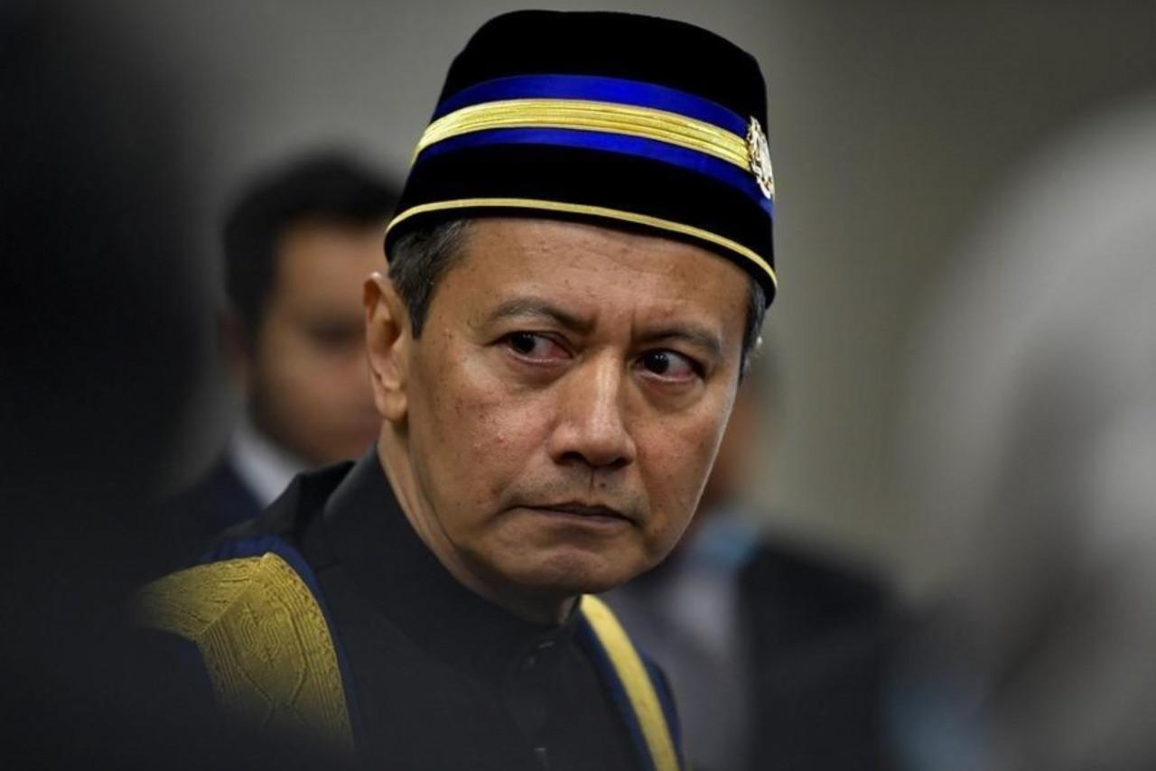 Dewan Rakyat Speaker Datuk Azhar Azizan Harun has been accused of favouring the Bersatu-led government due to his cordial relationship with Prime Minister Tan Sri Muhyiddin Yassin. – Bernama pic, July 22, 2021